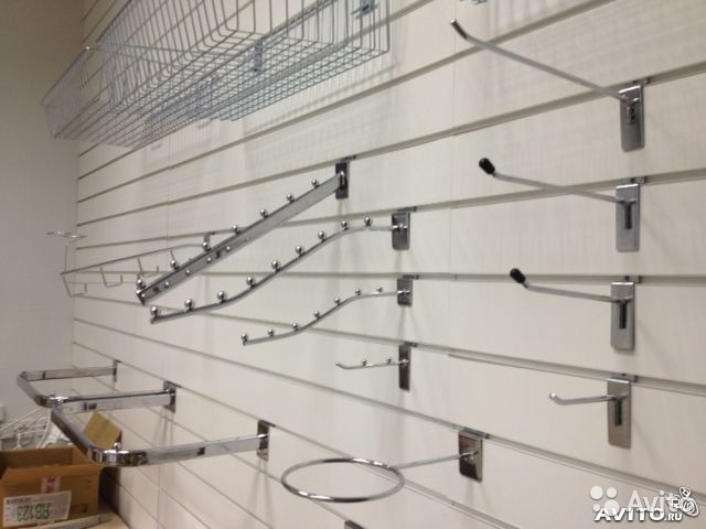 Купить крючки для торговой решетки и сетки в