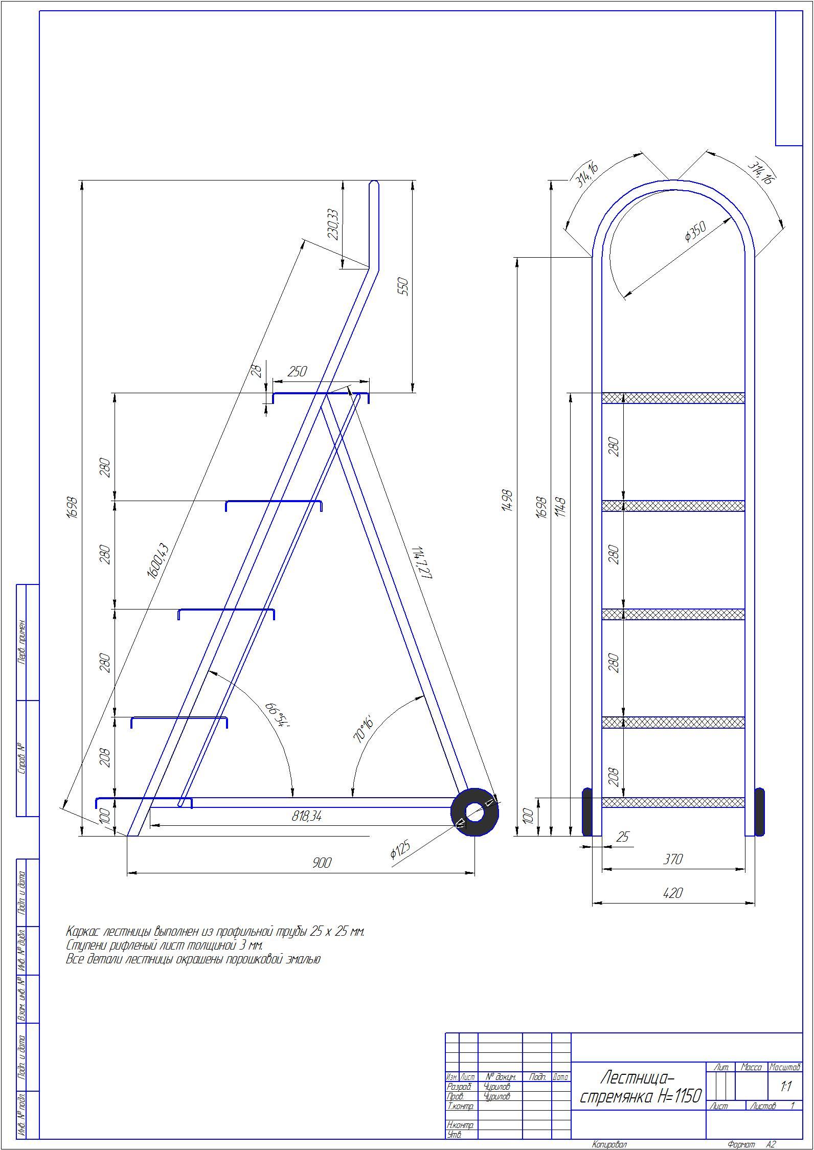 Конструкции лестницы своими руками